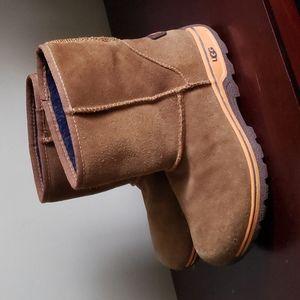 UGG waterproof low leather winter boot unisex